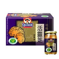 桂格 活靈芝 6入/盒 [橘子藥美麗]