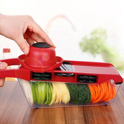 切菜器 家用土豆絲切絲器廚房用品多功能切菜蘿蔔擦絲土豆片切片刨絲神器『MY3896』