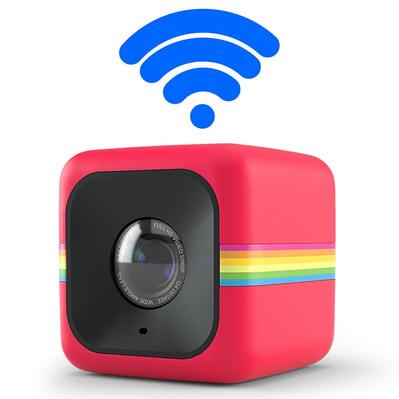 【和信嘉】Polaroid Cube+ 骰子相機(紅色) WIFI 迷你行動攝影機 公司貨 原廠保固一年