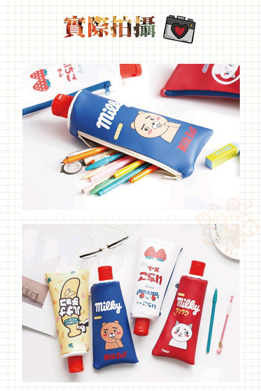 ORG《SG0227》限量款!附削鉛筆機 仿真 牙膏造型 鉛筆袋 收納袋 置物袋 鉛筆盒 筆袋 文具用品 交換禮物 創意 3