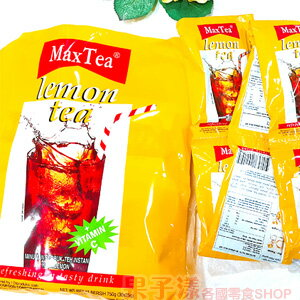 <br/><br/>  印尼 Max Tea 檸檬茶(整袋30小包入) [IN020A]<br/><br/>
