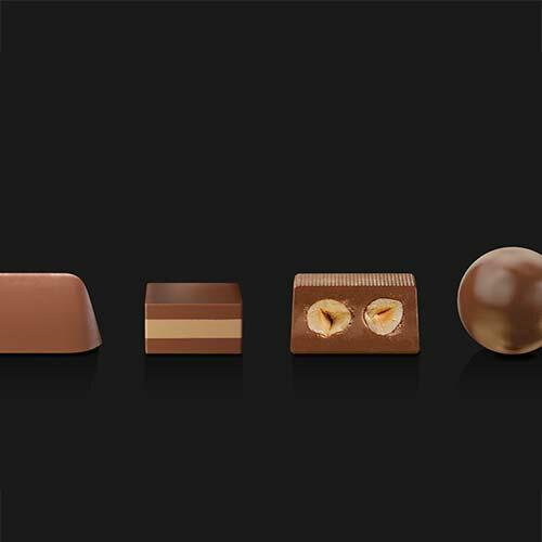 【派尼克帝PERNIGOTTI】義大利進口金磚巧克力★經典金裝巧克力禮盒-四款經典榛果牛奶巧克力198g★送禮的好選擇 1