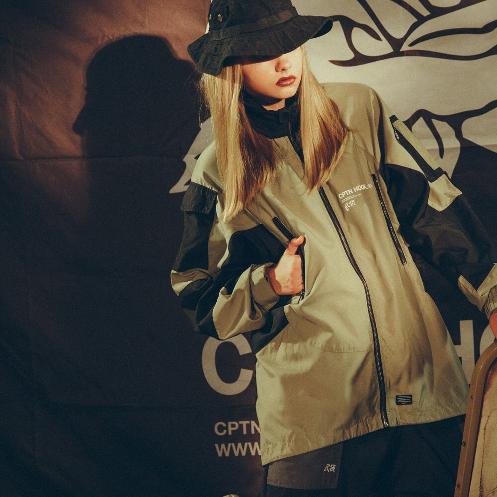 【CPTN HOOK】TIGER ON THE HILL COAT(黑 / 卡其) 高領 抗寒 防風 風衣外套(palace store) 3