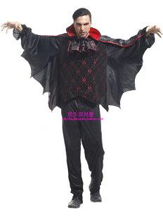 天姿舞蹈戲劇表演服飾特殊造型館:M0038大人豪華蝙蝠吸血鬼表演造型派對服裝批發團購