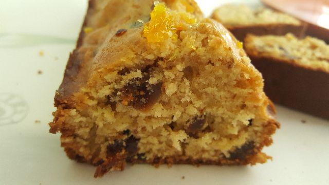 無花果柑橘蛋糕 濕潤口感!(長條可切十片) 手作甜點/蛋糕/點心/下午茶