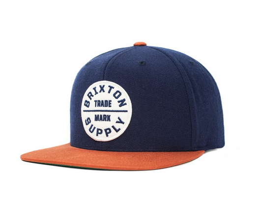 ~ BRIXTON ~街頭 棒球帽 ~ OATH III 帽款 ~ Navy copper