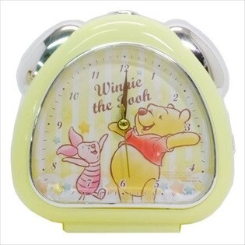 X射線【C067060】小熊維尼WinniethePooh鬧鐘-條紋,時鐘掛鐘壁鐘座鐘鬧鐘鐘錶手錶潛水錶