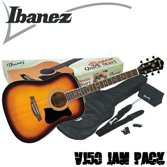 【非凡樂器】Ibanez VC50NJP 木吉他/民謠吉他套裝組/包含了演奏所需的所有配備/公司貨保固