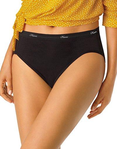 38d6f6f224c Hanesbrands: Hanes Cool Comfort™ Women's Cotton Hi-Cut Panties 6 ...