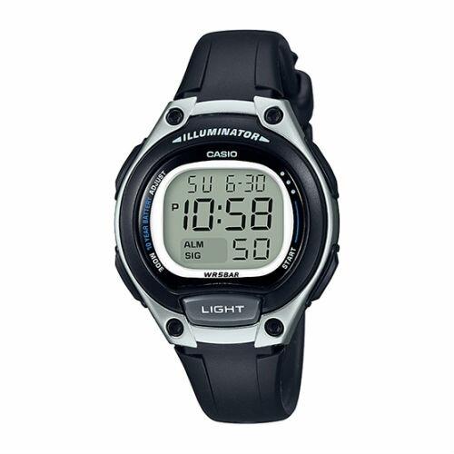 CASIOLW-203-1A長效環保電池小巧數位時尚腕錶