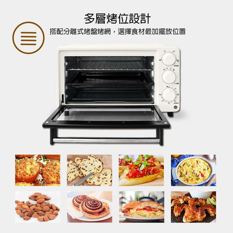 【晶工牌14L上下火烤箱】大容量烤箱 烘焙烤箱 家用烤箱 營業用烤箱 旋風烤箱 不鏽鋼電烤箱【AB416】 5