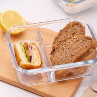 野餐盒不可缺單品推薦到iCook 韓國大容量多隔式耐熱玻璃便當盒 飯盒 三隔玻璃飯盒 玻璃保鮮盒 餐盒 密封保鮮盒 分隔便當盒 【AB036】就在購物寓推薦野餐盒不可缺單品
