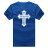 ◆快速出貨◆T恤.情侶裝.班服.MIT台灣製.獨家配對情侶裝.客製化.純棉短T.單色十字架 JESUS【YC438】可單買.艾咪E舖 8