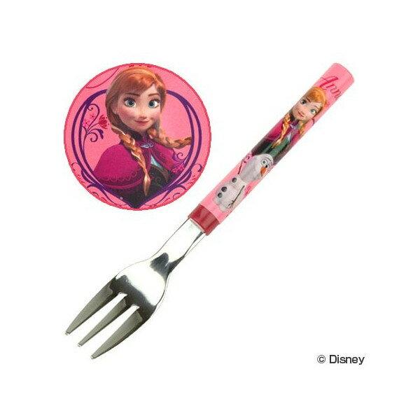 迪士尼  冰雪奇綠不鏽鋼叉子 - ANNA