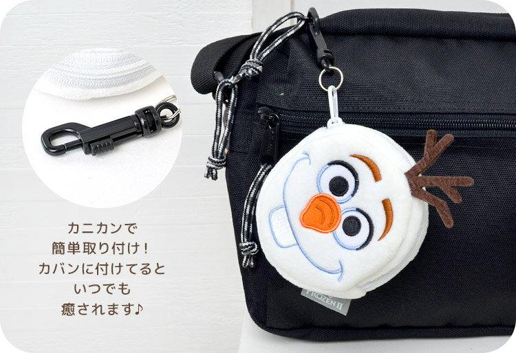 日本迪士尼 Disney Frozen 冰雪奇緣 雪寶 零錢包 小錢包 。-日本必買 日本樂天代購(1340) 5