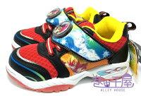 【巷子屋】遊戲王男童造型電燈運動休閒鞋 [44912] 紅 MIT台灣製造 超值價$198 0