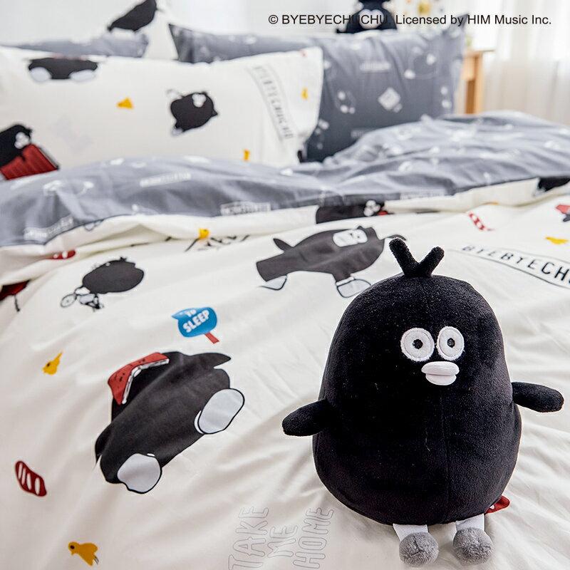 床包兩用被套組  /  雙人-100%精梳棉【奧樂雞的遊樂園】含兩件枕套 獨家人氣插畫家 聯名款 戀家小舖 台灣製 4