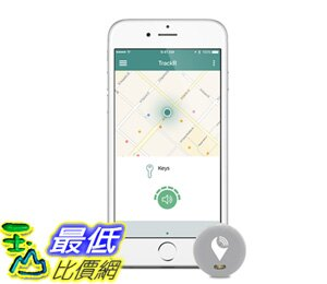 追蹤器 TrackR pixel Tracking Device Item Tracker. Phone Finder iOS/Android Compatible Gray