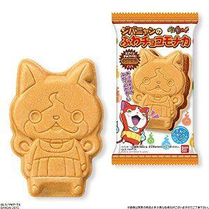 有樂町進口食品  日本 萬代 妖怪手錶 最中巧克力餅乾 期間限定 J35 4543112951731 0