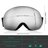 Adult Ski Snowboarding Goggles, Unisex Snow Goggles with Anti-fog and UV400 Protection Treatment, Super-wide Angle and Spherical Lens, for Men and Women 4