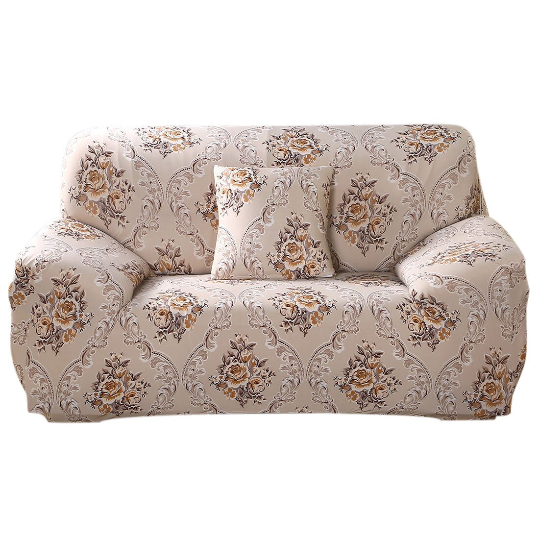 Pleasing Stretch Sofa Cover Loveseat Couch Slipcover Machine Washable Stylish Furniture Protector With One Cushion Case 3 Seater Style 4 Gmtry Best Dining Table And Chair Ideas Images Gmtryco