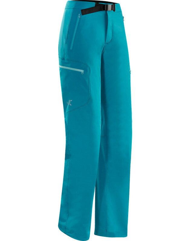 Arcteryx 始祖鳥 登山軟殼褲/透氣抗風耐磨排汗 6756 Gamma LT 天青藍 女款 Arc\