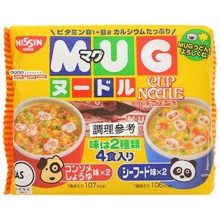 【和味食舖】 日本 NISSIN MUG杯仔麵 豆皮咖哩口味【22g/4包】日清馬克杯麵