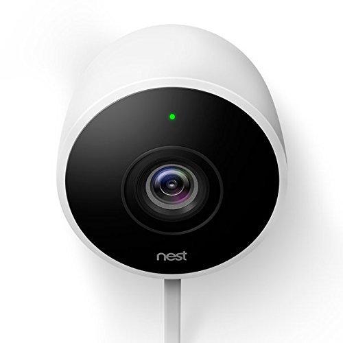 Nest Cam Outdoor Security Camera, Works with Amazon Alexa 1