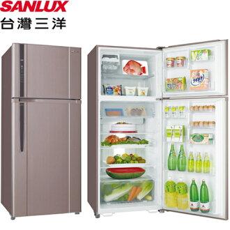 SANLUX 台灣三洋 SR-B480BV 直流變頻冰箱 480L 雙門 能源效率1級 (香檳紫)
