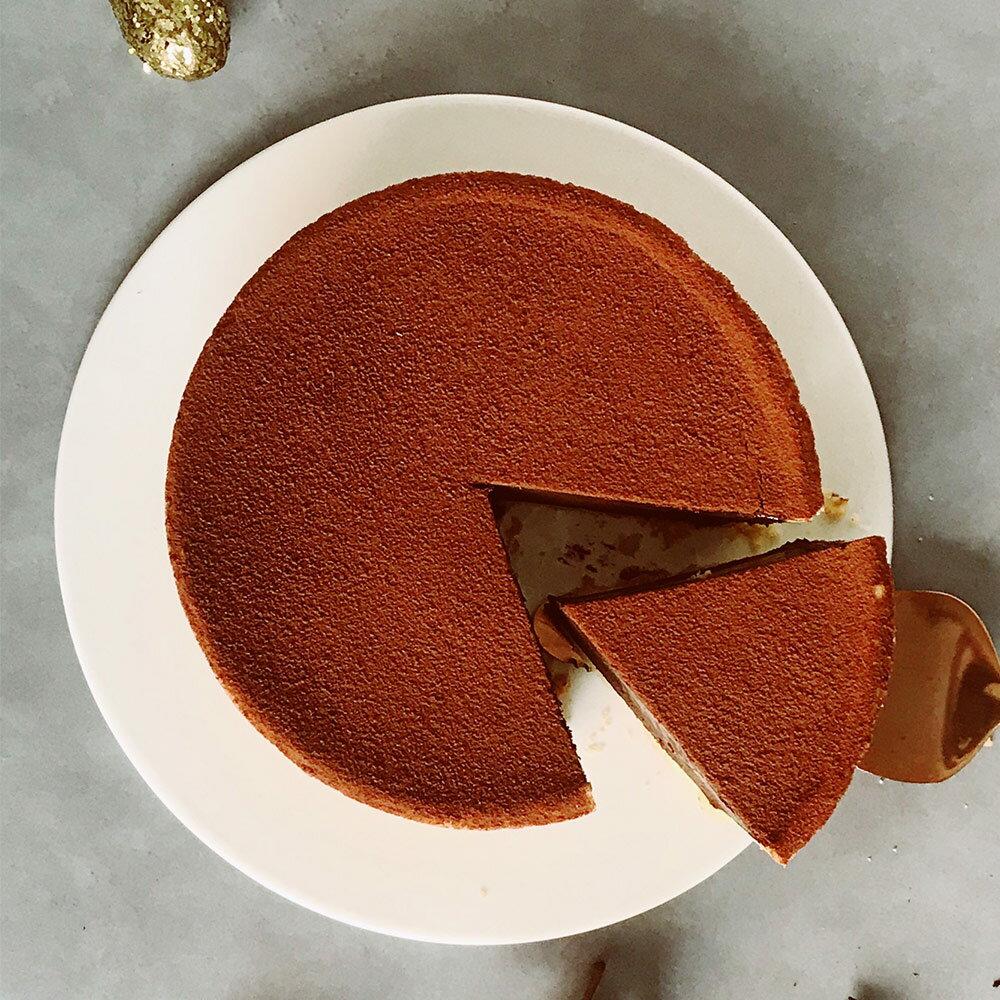 艾波索【可可巴芮生巧克力塔6吋】蘋果日報蛋糕評比亞軍★生日蛋糕、母親節蛋糕