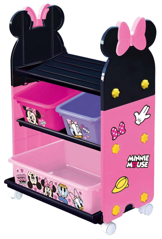 日本 迪士尼 Disney 米妮玩具收納櫃