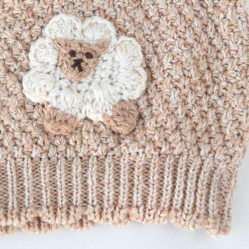 Hoppetta - 有機棉綿羊針織帽 6