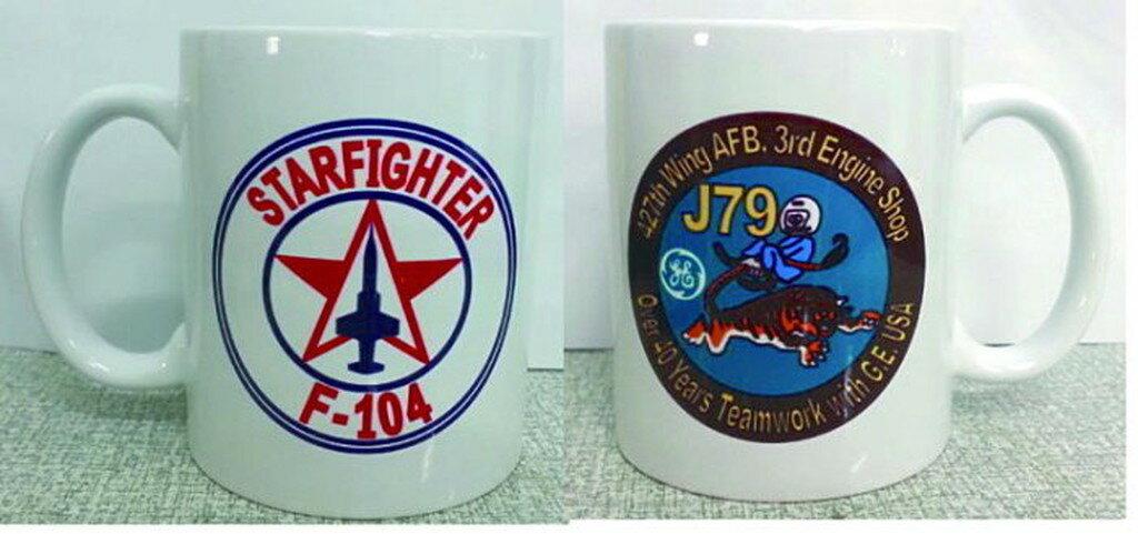 嘎嘎屋 台灣製 馬克杯 客製化 空軍 F-104 J79紀念 馬克杯K43 2