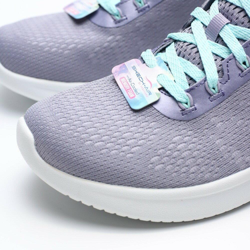 【領券滿$2000最高折$250】SKECHERS AIR ULTRA 粉紫 網布 紫 綠漸層 冰底 慢跑 運動 女 (布魯克林) 13293LAV