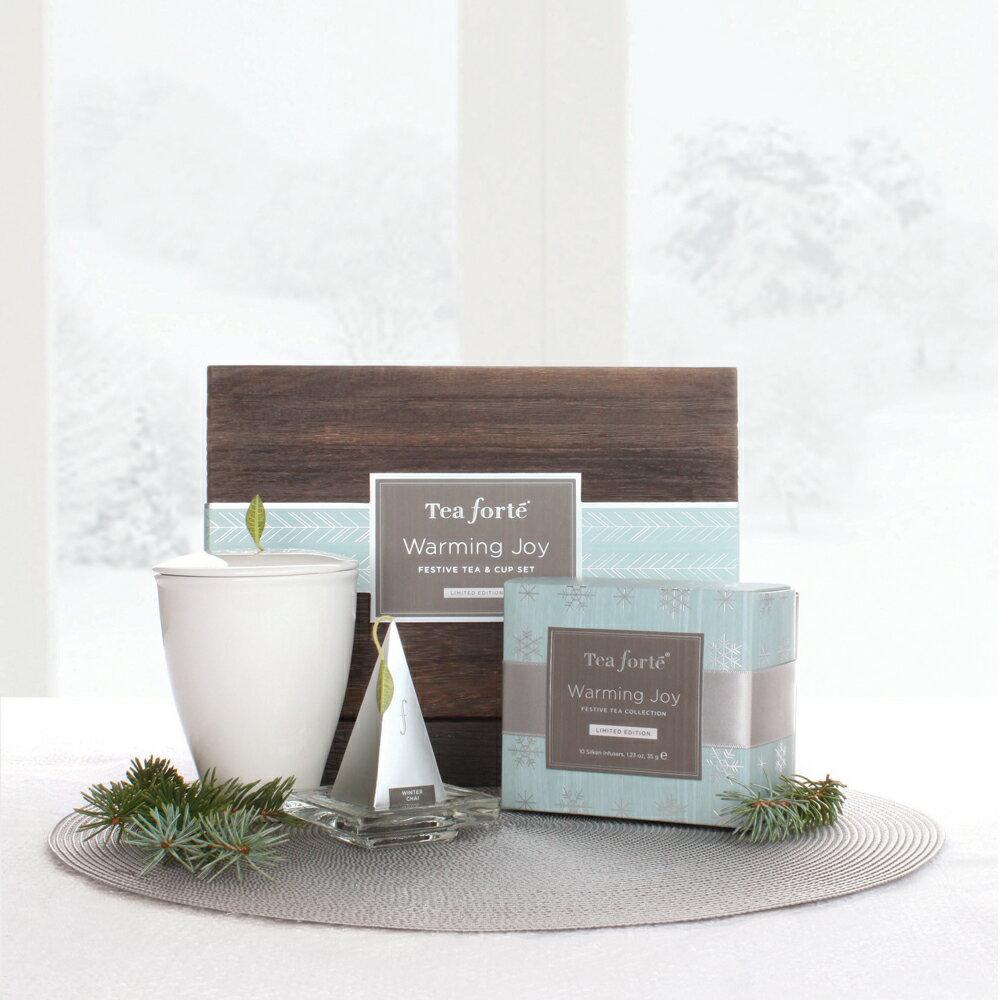 Tea Forte 冬季戀曲 茶具茶品禮盒 Warming Joy Gift Set 0