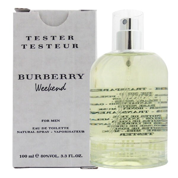 BURBERRY Weekend 週末男性淡香水100ml【A002875】 Tester環保包裝 《Belle倍莉小舖》