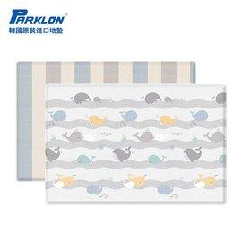 【淘氣寶寶】韓國 Parklon帕龍-PVC雙面包邊地墊(遊戲墊)泡泡遊戲鯨魚(210*140*4公分)