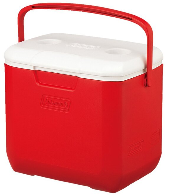 【鄉野情戶外專業】 Coleman |美國| 28L Excursion 手提冰箱/冰桶 保鮮桶 保冰箱-紅/CM-27862M000