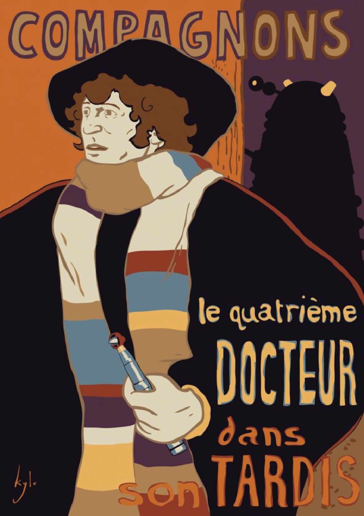 超時空奇俠 Doctor Who 海報 ^(A4大小^) ~  好康折扣