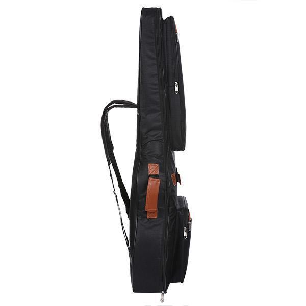 600D Oxford Acoustic Guitar Bag 5-Pocket Padded Gig Bag with Guitar Strap and 12 Pick Samplers 1