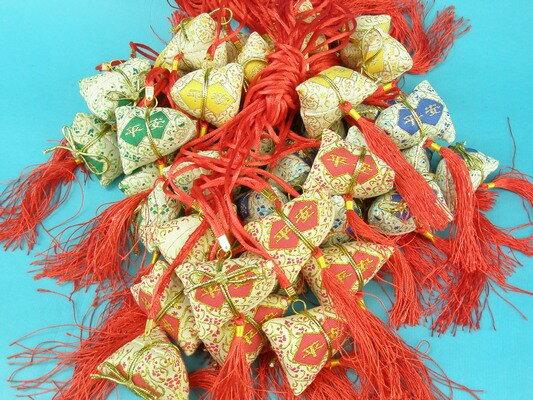 平安香包 粽子香包 項鍊式手工(成品) / 一包10個入 { 促80 }  端午節香包~4762 9