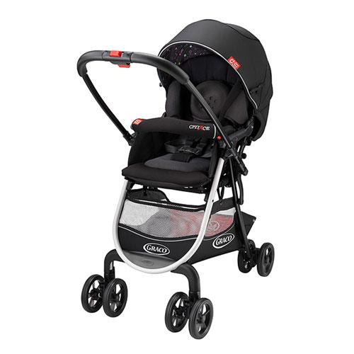 【悅兒樂婦幼用品舘】Graco 購物型雙向嬰幼兒手推車 城市商旅 CITIACE CTS-小花朵