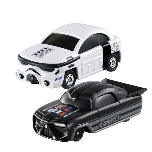 【奇買親子購物網】【TOMICA迪士尼】Star Wars Star Cars(黑武士/白武士)