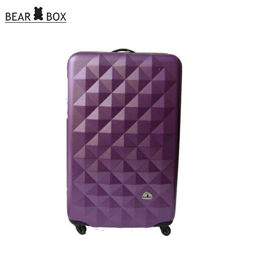 BEAR BOX 晶鑽系列ABS霧面收納家24吋旅行箱 / 行李箱 4