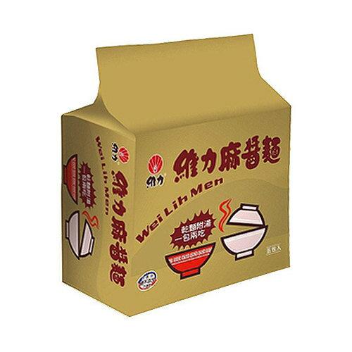 維力 麻醬麵 85g (5入)/袋【康鄰超市】