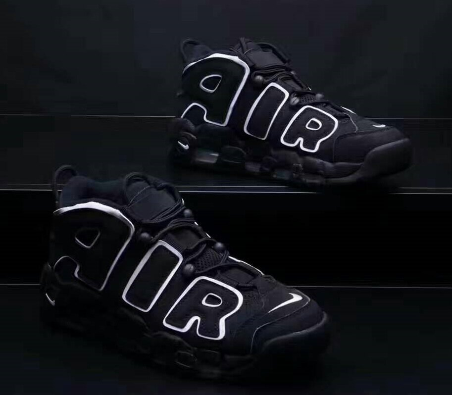 Nike Air More Uptempo Black Pippen 黑白 男款