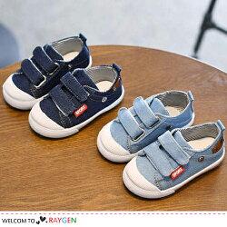 男童星星牛仔休閒鞋 帆布鞋 學步鞋【3B040X603】