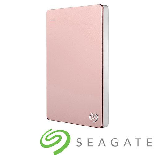 Seagate 2TB外接硬碟Backup Plus玫瑰金【愛買】