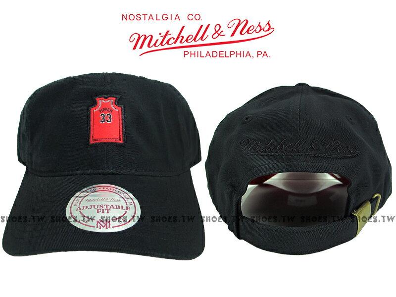 《下殺6折》Shoestw【5056133900149】Mitchell & Ness 老帽 SNAPBACK 公牛隊 球衣 黑紅 0
