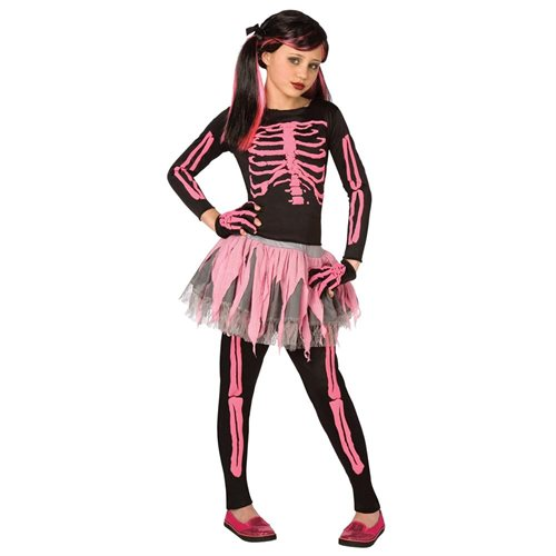 Punk Skeleton Child Costume 0